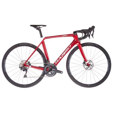 Vélo de Course BASSO DIAMANTE DISC Shimano Ultegra R8020 34/50 Rouge 2021